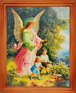 capax-dei-obraz-aniol-stroz-dzieci